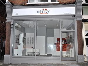Opticians shop in London W10